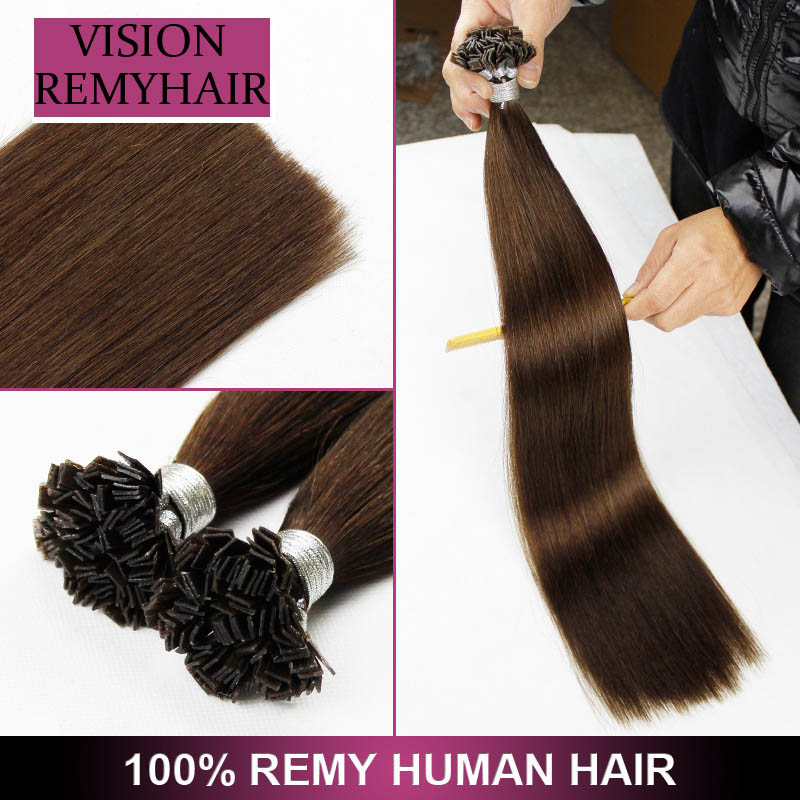 Wholesale Human Cuticle Aligned Remy Russian Nano ring hair
