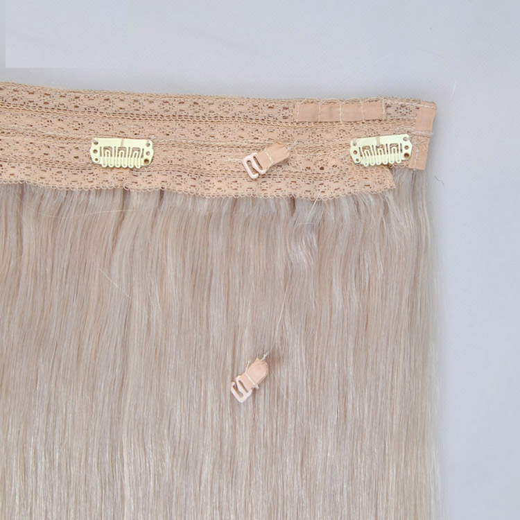Full Cuticle Aligned Flip Halo In Hair Extensions Replacement Wire