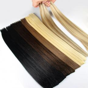 Real remy russian hair weft