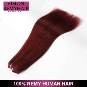 European Hot Selling Remy Double Drawn Weft Full cuticles