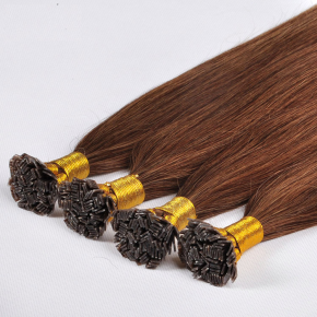 100% Double Drawn Virgin Remy Colored I Tip Hair Extensions