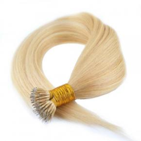 Remy I -Tip  Nano Ring Hair Extension