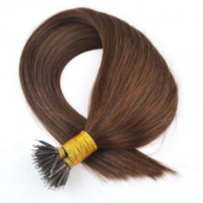 100% Real Human Hair Mink Nano Ring Metal Tip Hair