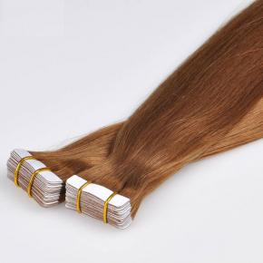 100 pure remy human tape hair extensions remy russian tape in hair extentions