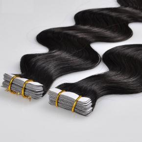 Human Tape In Remy Hair Extensions Double Drawn Wholesales