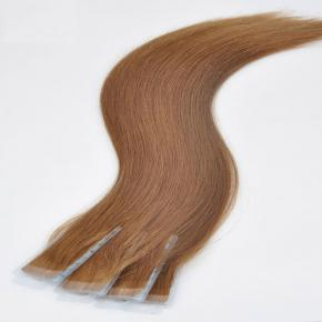 100% Virgin Remy European Tape Hair Extension, Wholesale Invisible Double Drawn Remy Tape In Human Hair Extension
