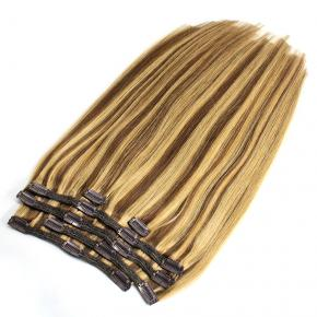 Super Quality Popular Russian Mongolian Hair Extension 3